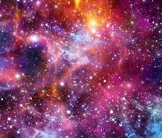 Blue Orange Galaxy 150815