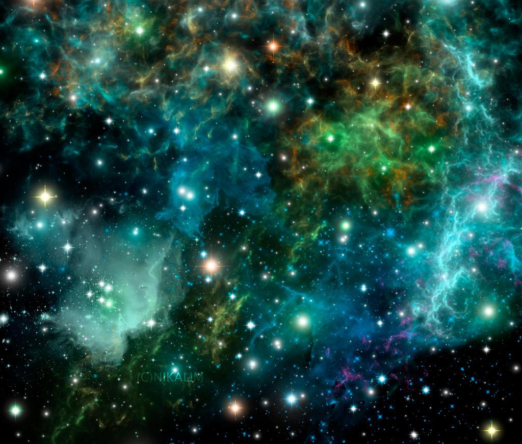 Space Nebula by NikaLim on DeviantArt