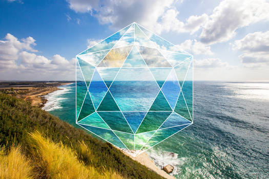 Sunset Sacred Geometry Rosh Hanikra