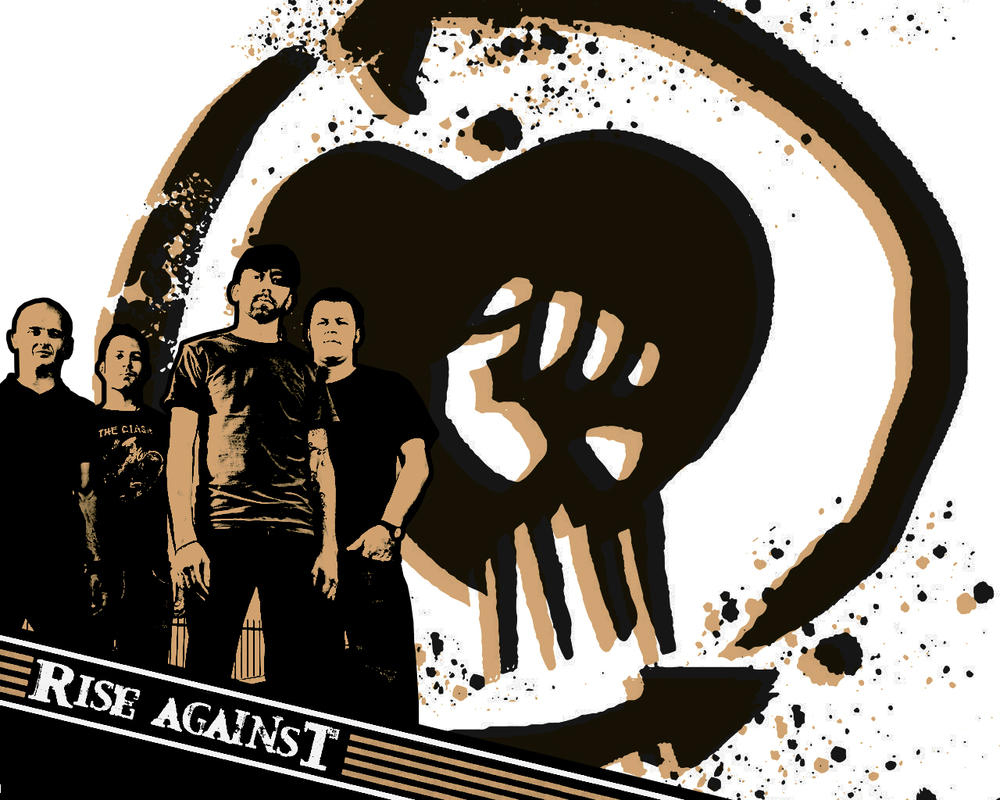 Rise Against wallpaper 1 by ~itsmekarol on deviantART