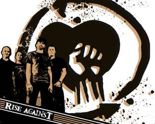 Rise Against wallpaper 1 by itsmekarol