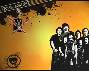 Rise Against wallpaper 2 by itsmekarol