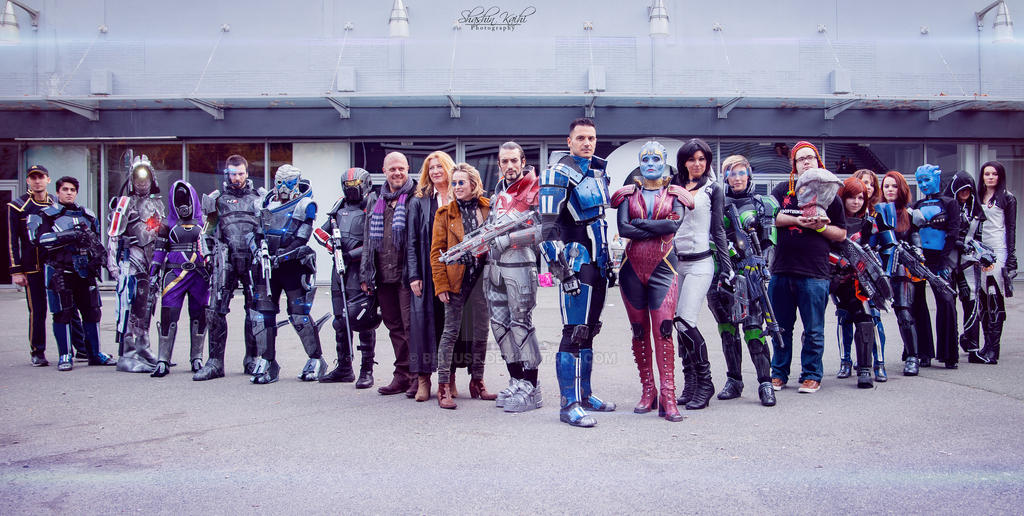 Mass Effect team by Biseuse