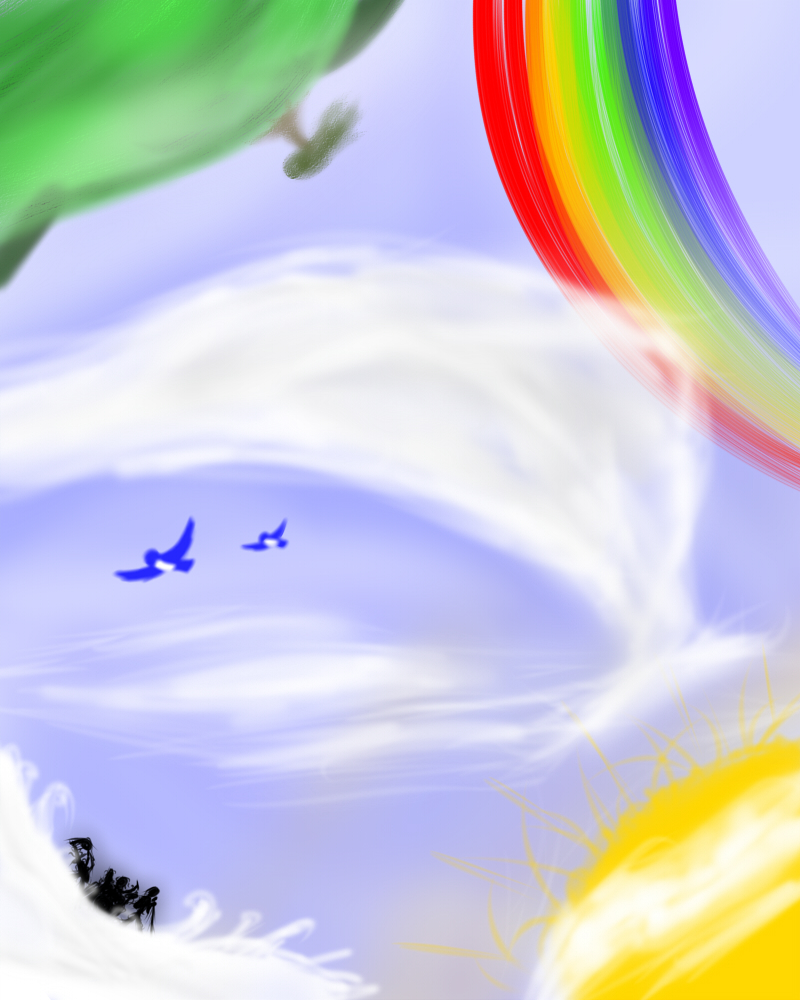 Over the Rainbow by BIueBoy