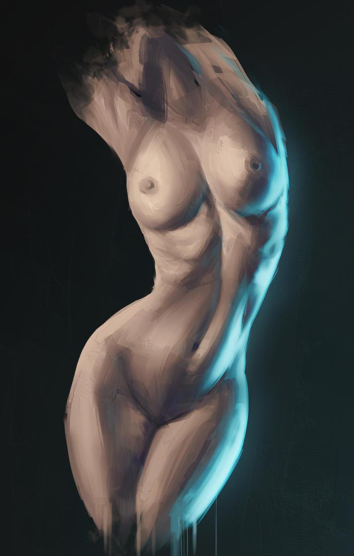 Female Body Study #1 by DalaronOfDorothill