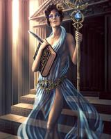 Queen of Diamonds by Damjan-Gjorgievski