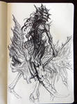Inktober 9 - Horseman