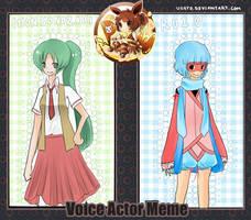 voice actor meme by Usato