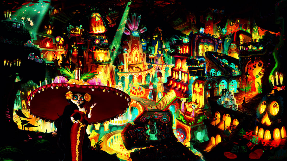 Book Of Life Wallpaper By Rincen On Deviantart