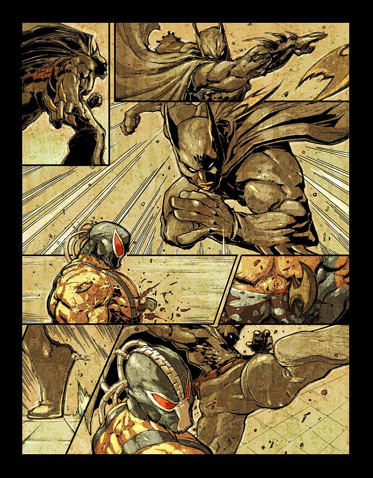 Najdrazi stripski junak - omiljeni likovi iz stripova - Page 2 Batman_vs_Bane_pg2_by_scabrouspencil