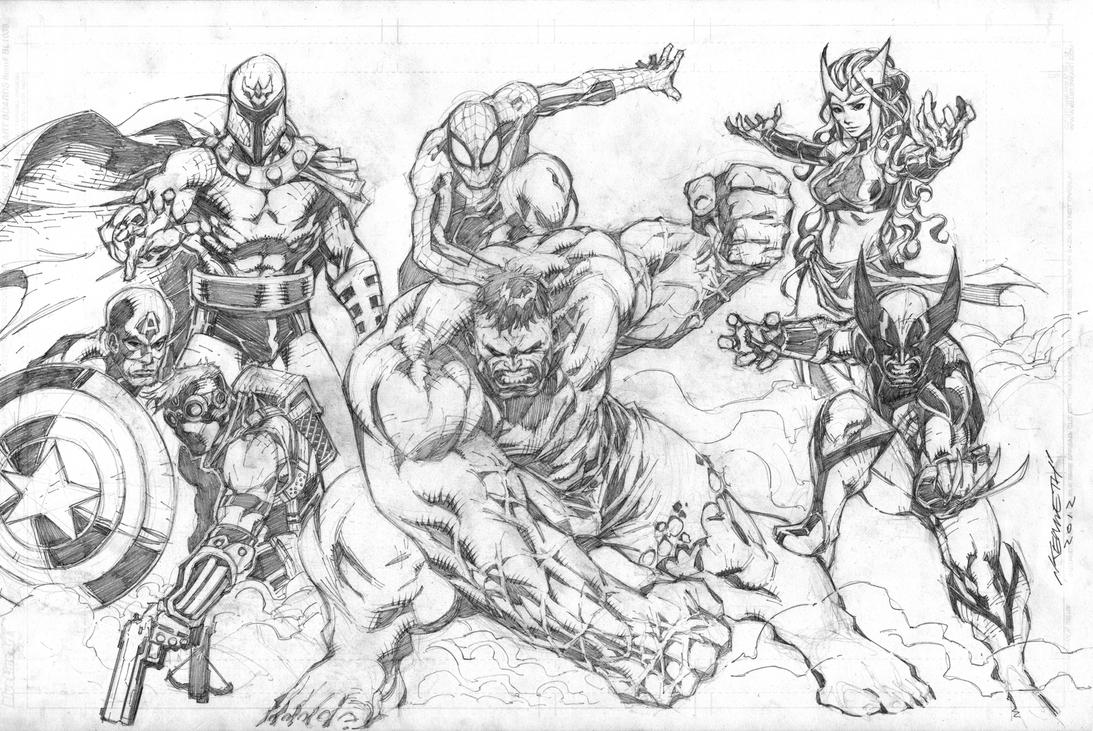 Marvel Drawings In Pencil Marvel Easy Marvel Characters Drawings