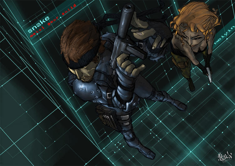 MGS_part2 by scabrouspencil