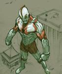 Ultraman sketch