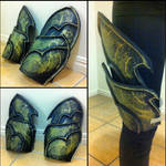 Sylvanas windrunner - leg armor in progress