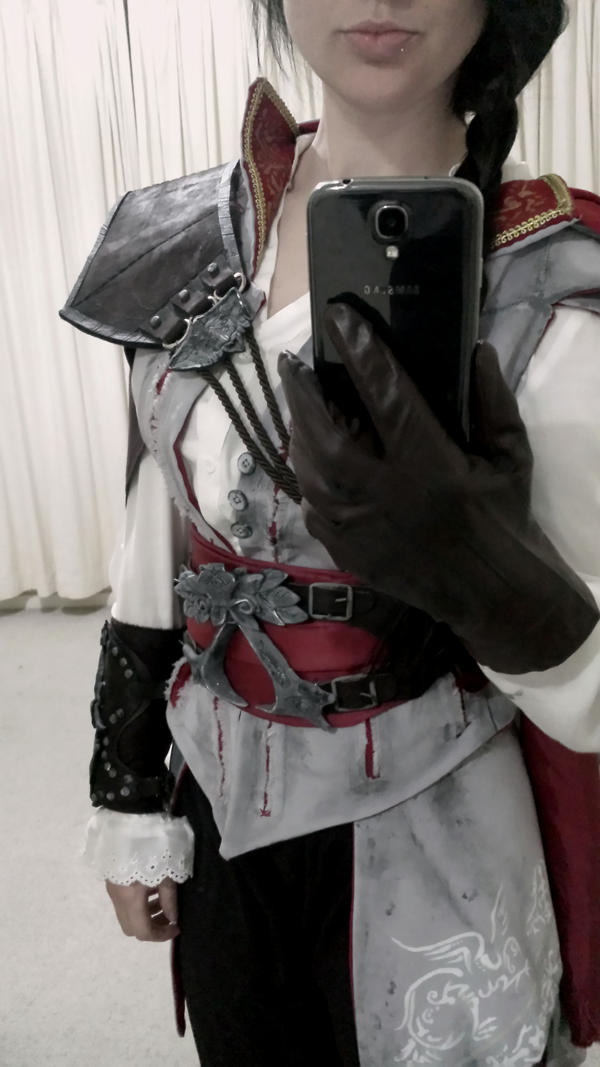 Assassins creed 2 - ezio cosplay test fit by Mandi180sx