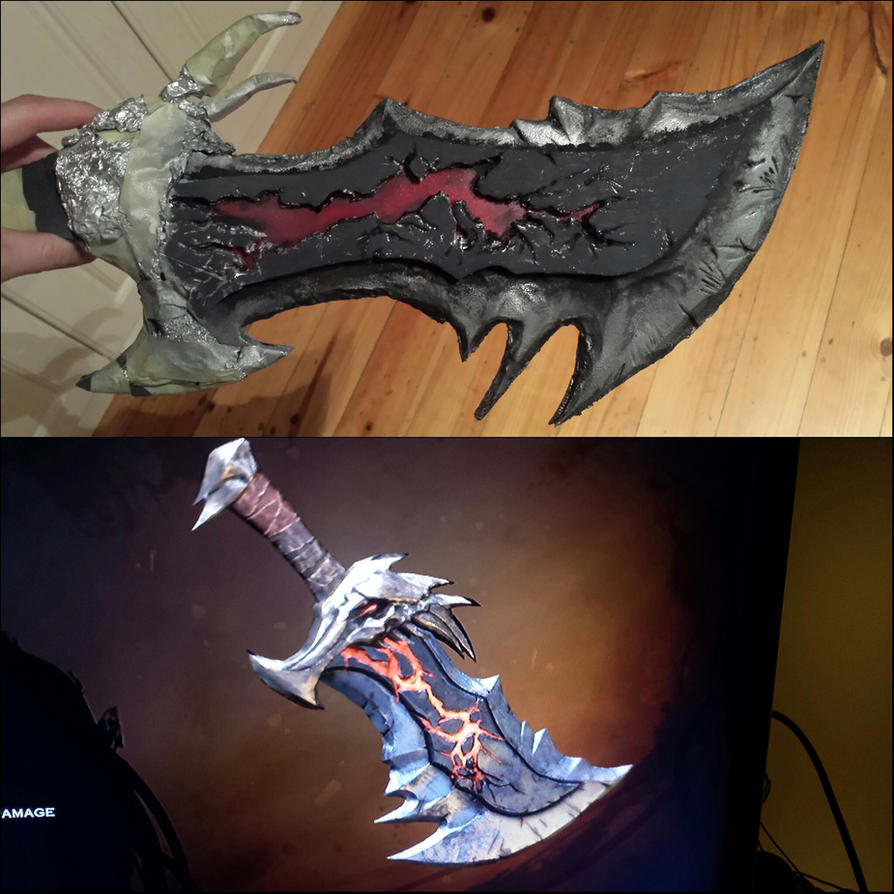 Real Blades Of Chaos