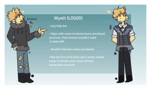 Wyatt (Detroit Become Human OC) by Xlexdotpng
