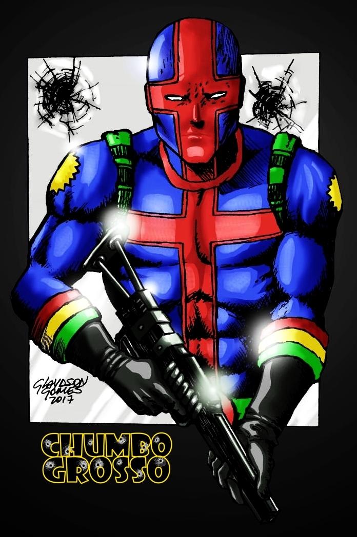 Chumbo Grosso armado em cores by GlaydsonGomes