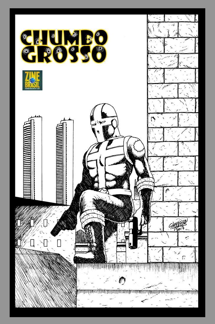 Capa Chumbo Grosso CCXP Tour by GlaydsonGomes