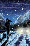 Snow Walk by ctwin