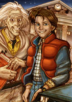 Back to the future Marty McFly by Yamatoking