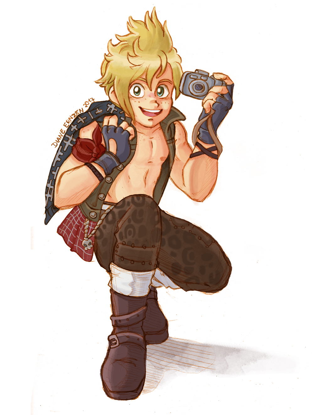 Prompto smile for the camera! by Yamatoking