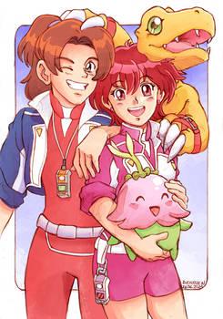 Digimon Savers Masaru x Yoshino