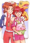 Digimon Savers Masaru x Yoshino by Yamatoking