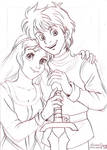 Taran and Eilonwy