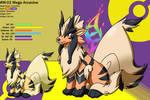Chushin Pokedex - M 02 - Mega Arcanine