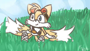 Tails Relaxing