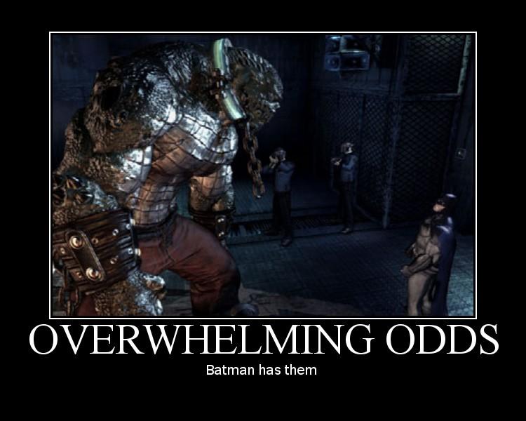 Motivational Batman by SetaTheWaywardNinja
