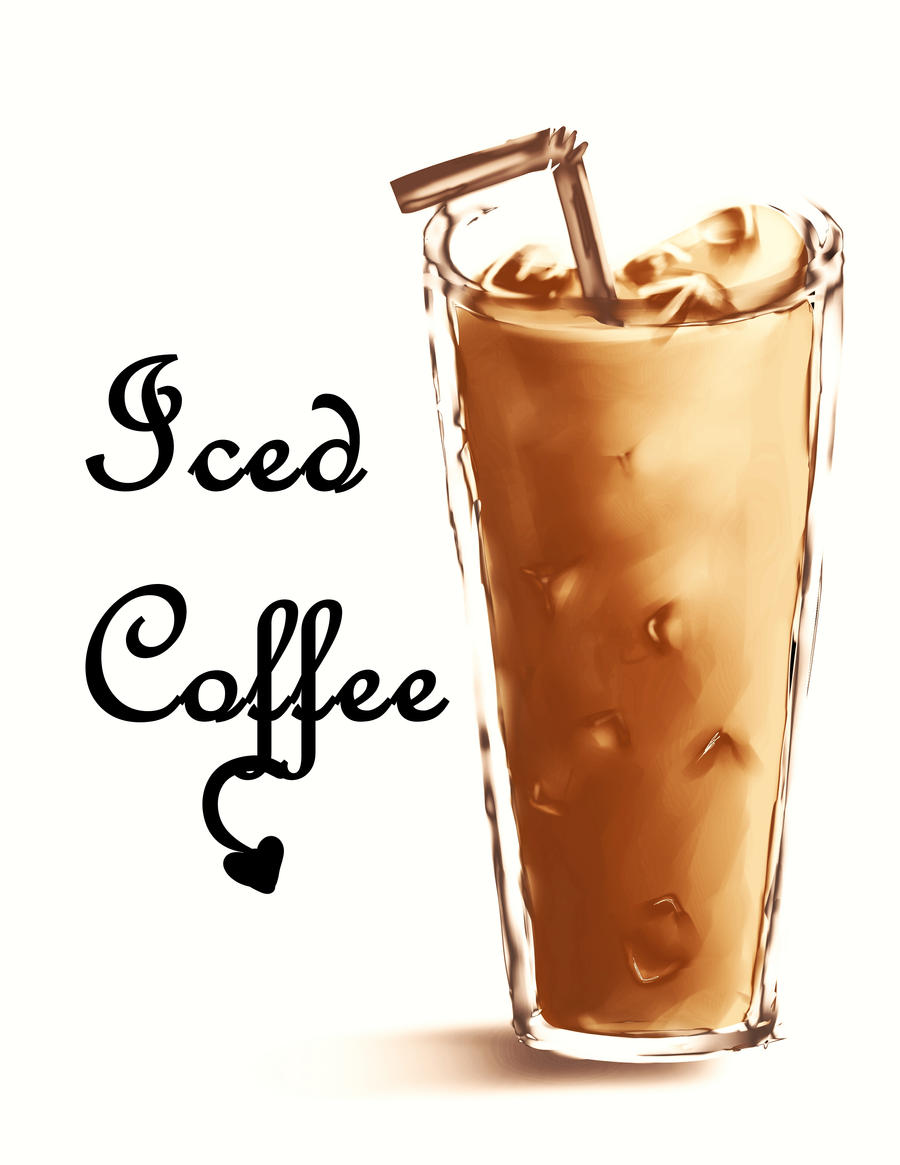 Iced Coffee By Somi K On Deviantart