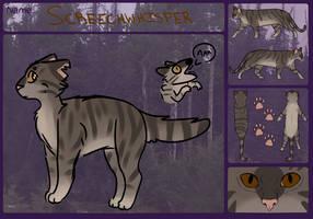 Screechwhisper [TWG MoonClan] by SandSloth