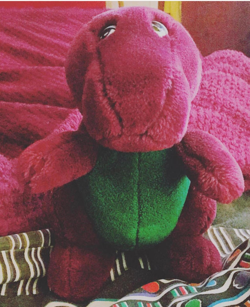 100 barney and the backyard gang toy barney the dinosaur