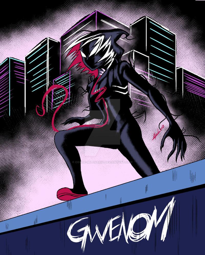 Gwenom by conde-milenario