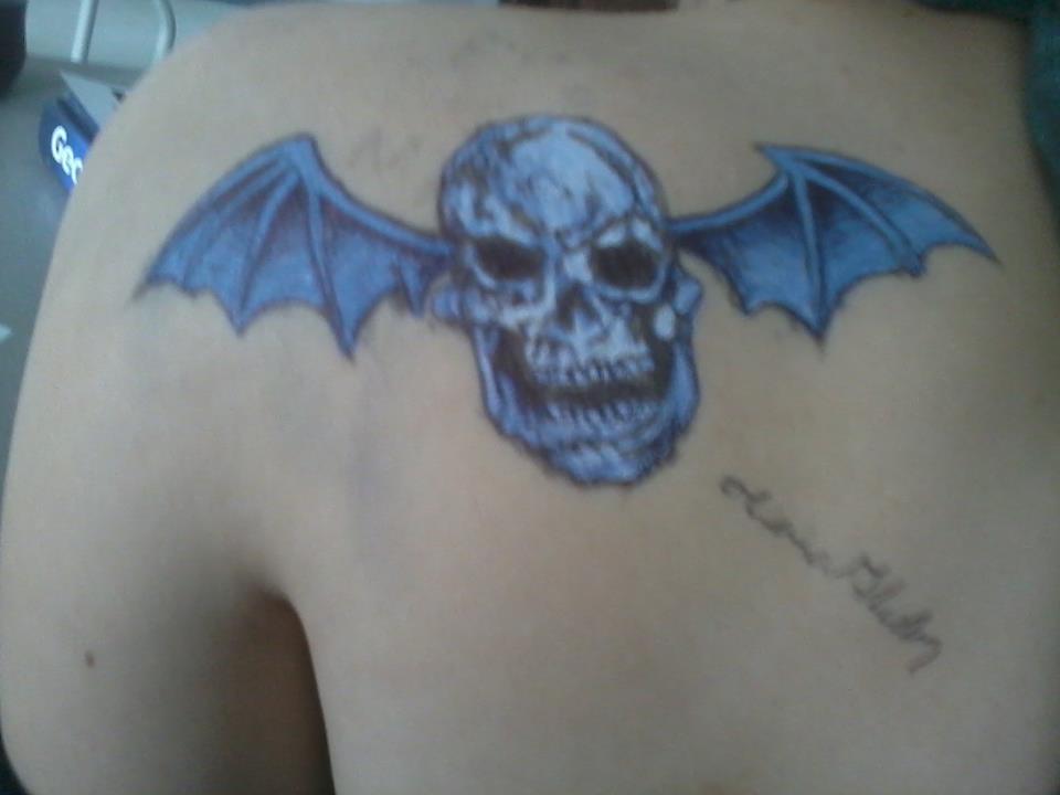 Avenged Sevonfold tattoo by 6maryjane