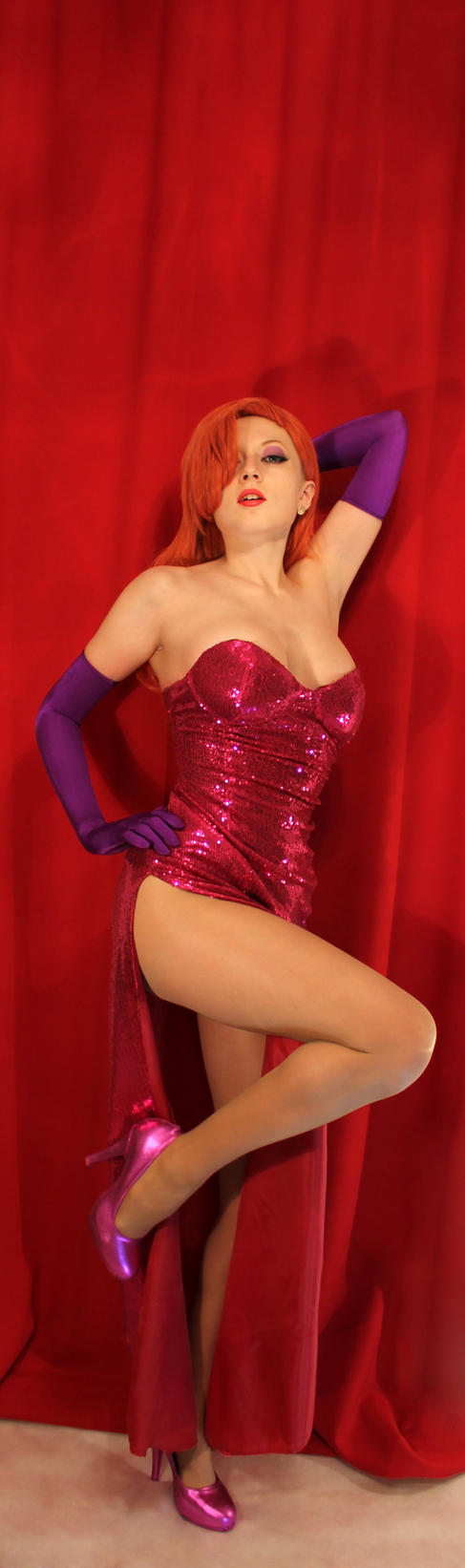 Jessica Rabbit by PinkMurka