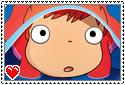 Ponyo stamp by Mochi--Pon