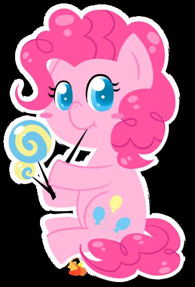 Pinkie-Pop by Mochi--Pon