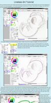 Lineless art tutorial
