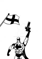 Piirrokseni Kapteeni Suomi - kilpailuun by VAISTO