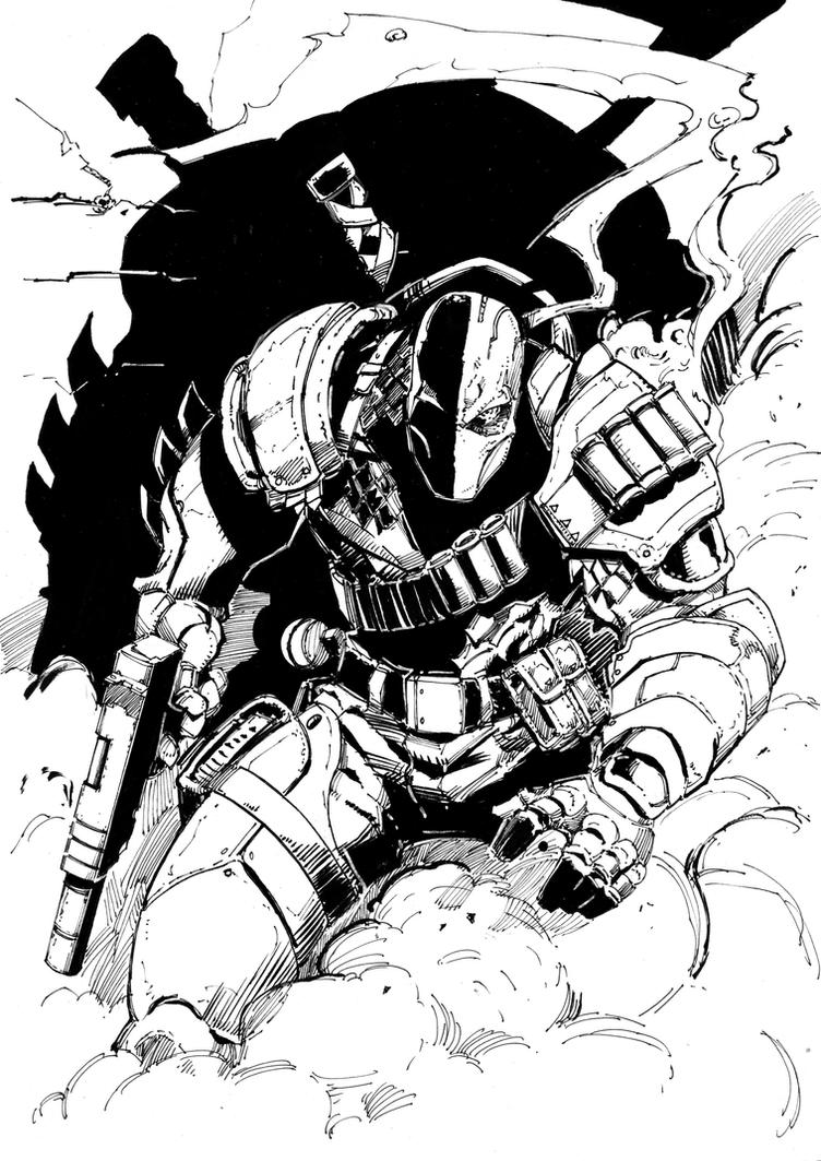 DeathStroke A3 by polacostyle