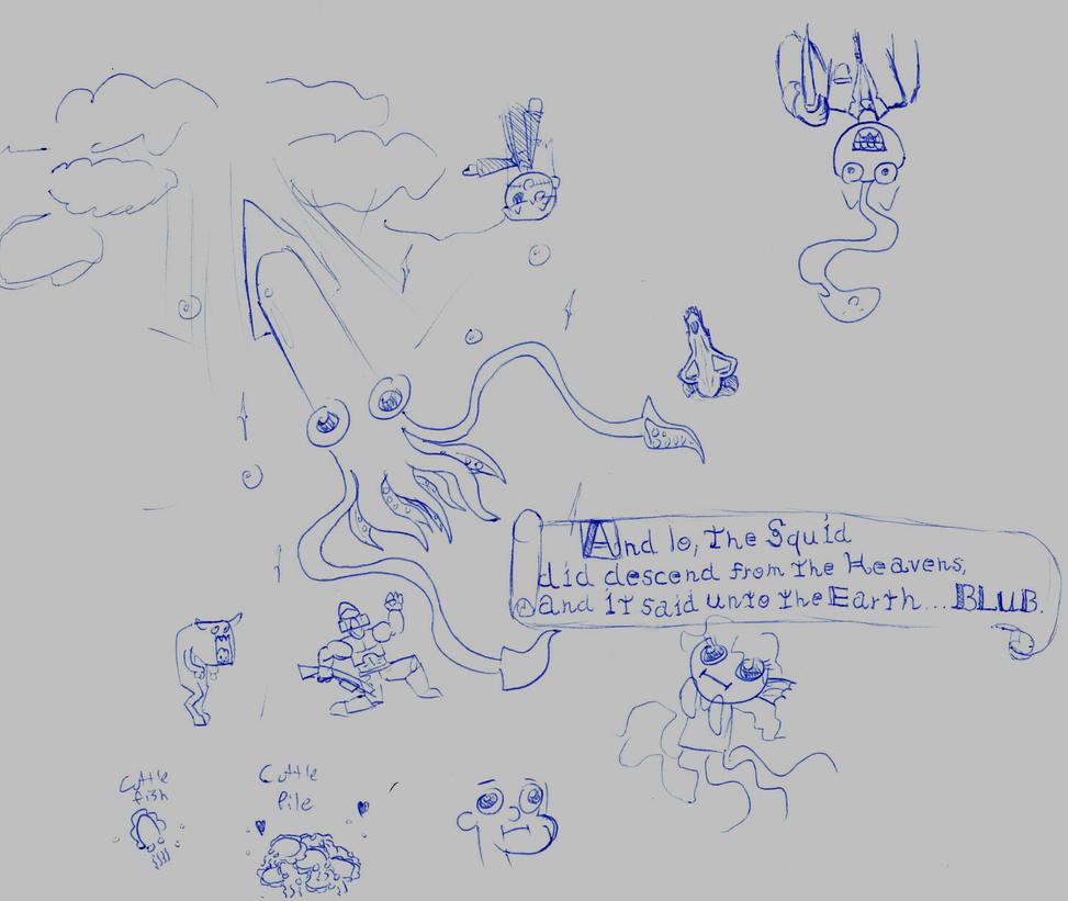 Work Doodles 2 by KarolineDianne