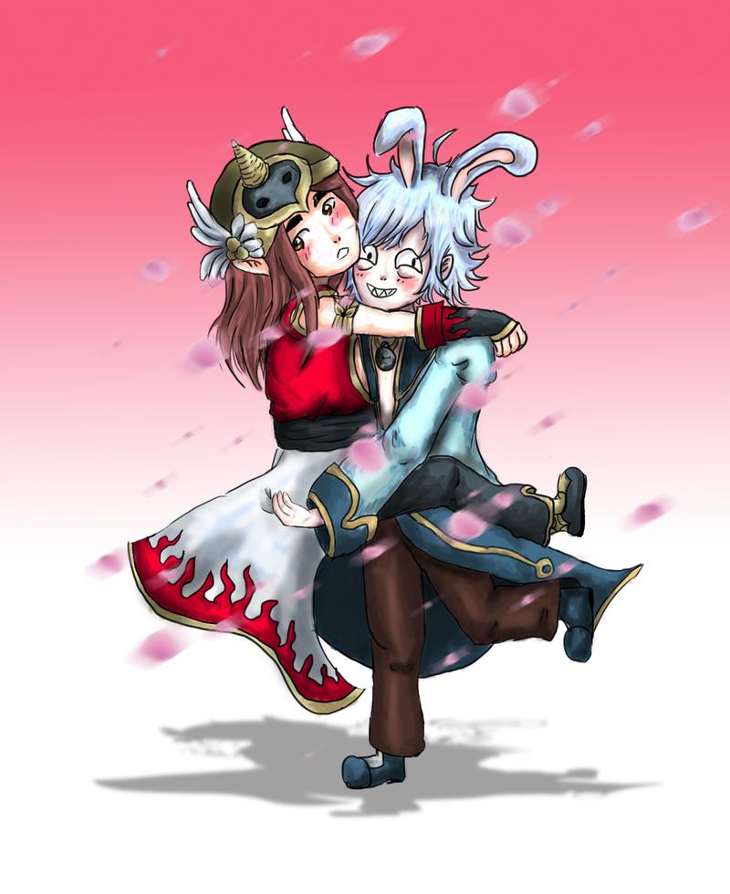 Jessu and MefI by Helija