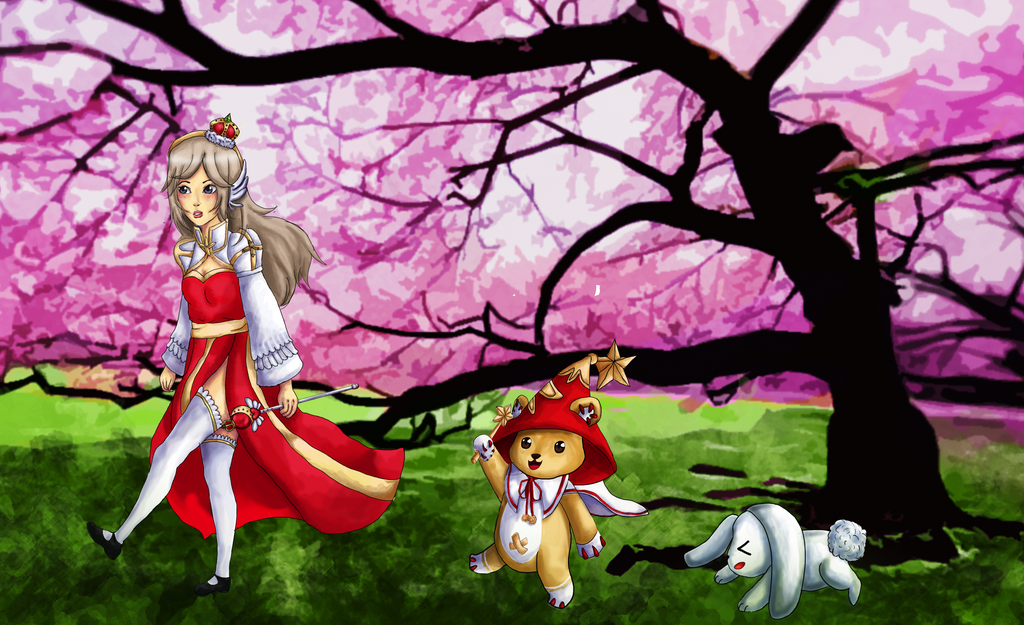Sakura Miyu by Helija