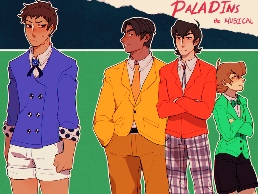 Voltron Heathers Au By Yiawe On Deviantart