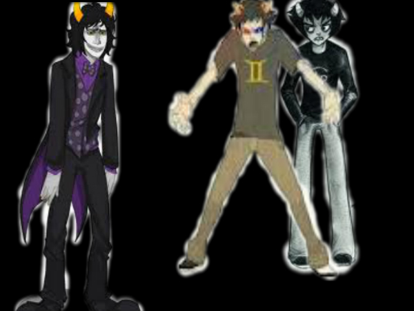 sollux karkat  and gamzee by Purple-Ninja-karkatKarkat And Gamzee And Sollux