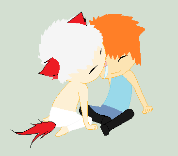 Ichigo and his Inu Friend by Sigery97