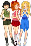 Powerpuff Girls Teens